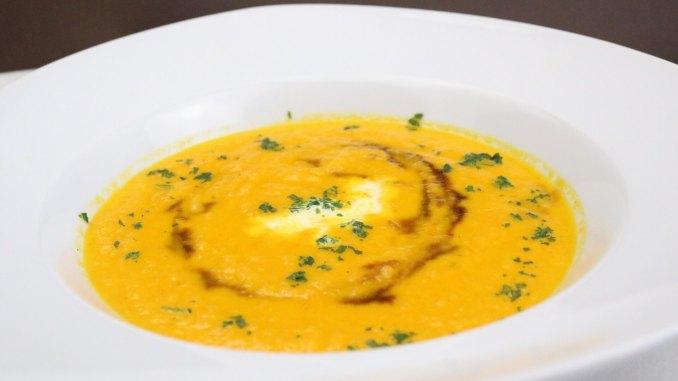 Karotten Ingwer Kokos Creme Suppe