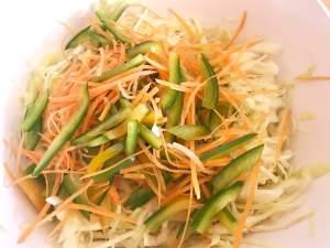 Krautsalat Zubereitung