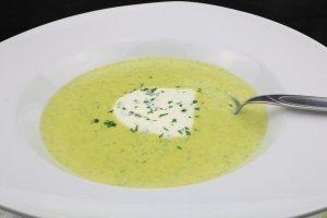 Zucchini Gorgonzola Suppe