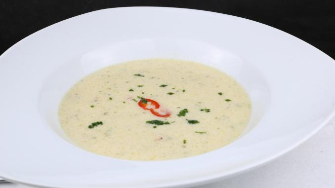 Spargel Chili Suppe
