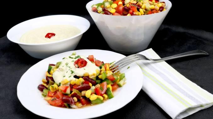 Einfach und Lecker Mexikanischer Grill Beilagen Salat
