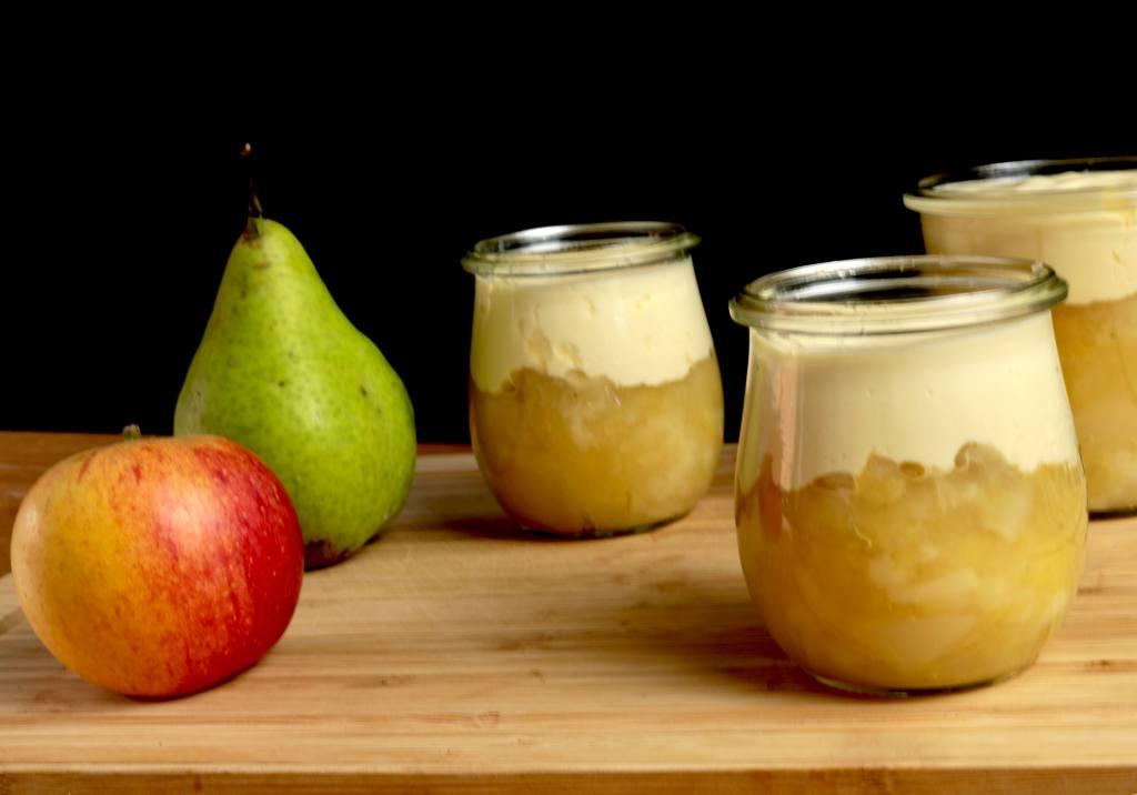 Serbiervorschlag Einfaches Birnen Apfelmus Rezept