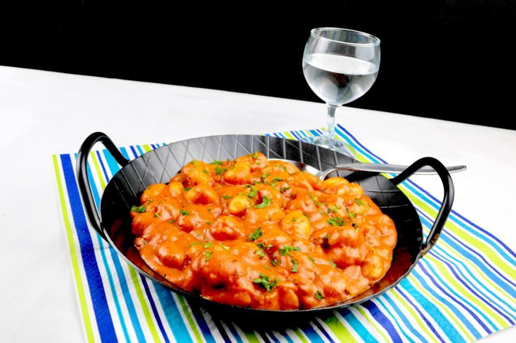 Gnocchi in einer Tomaten Frischkäse Kräuter Sauce