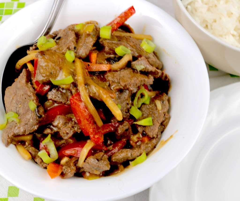 Zubereitung Rindfleisch nach Szechuan Art