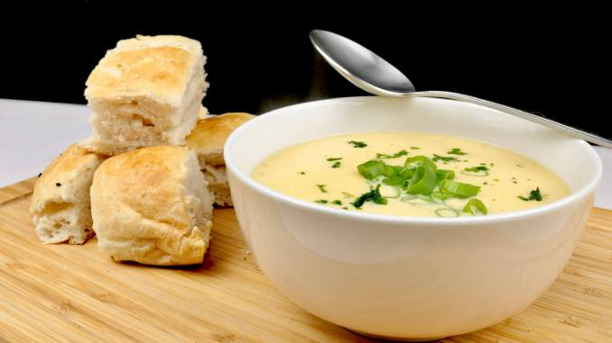 Knoblauch Parmesan Suppe