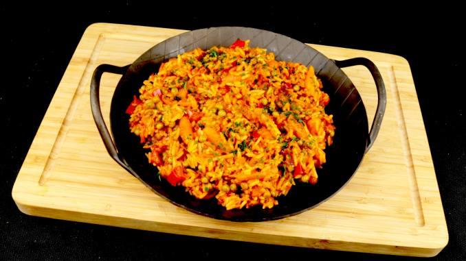 Djuvec Reis eine köstliche Reis Beilage