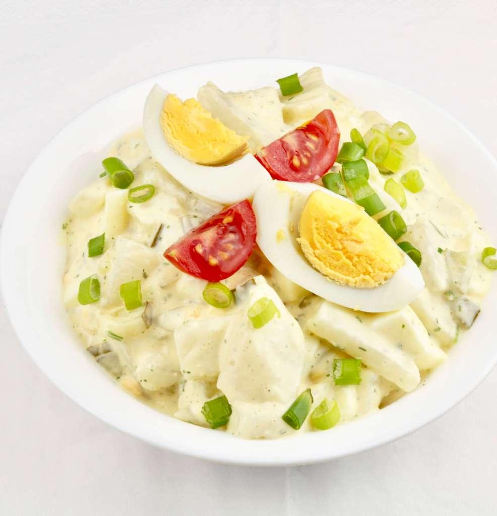 Zubereitung falscher Kartoffelsalat