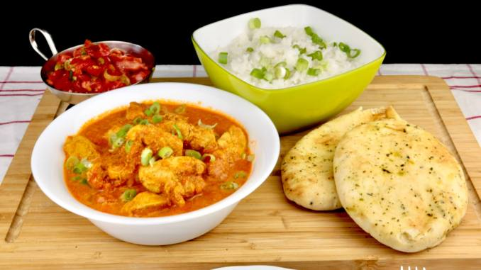 Einfaches Chicken Tikka Masala Rezept