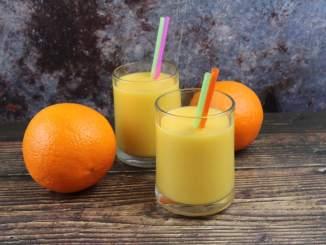 Orangen Mango Smoothie