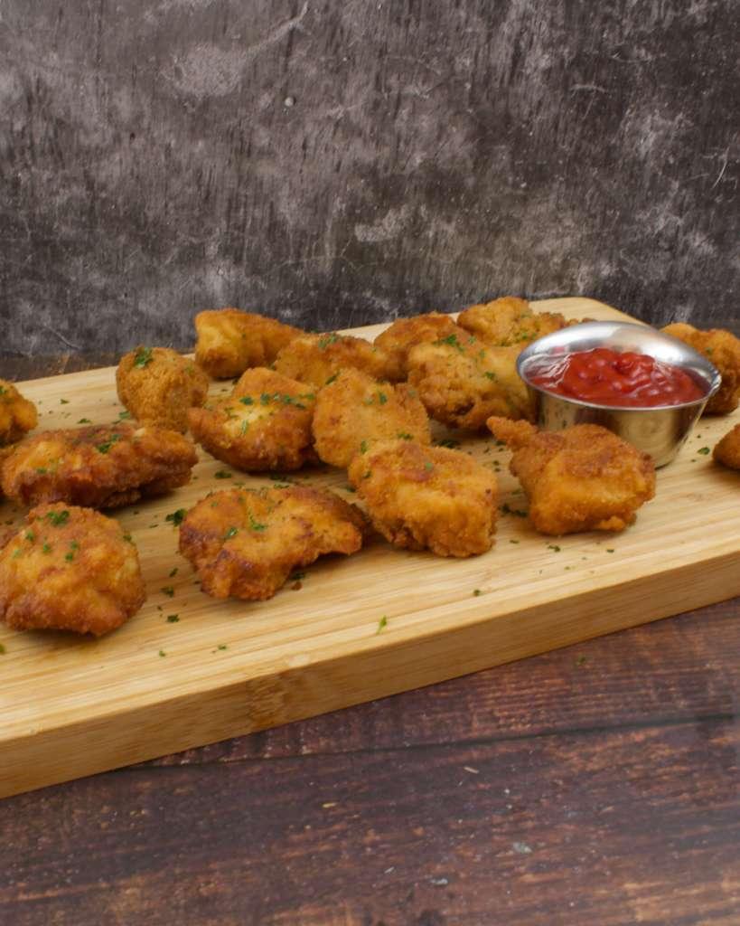 Serviervorschlag Chicken Nuggets Rezept