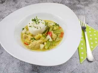 Grünes Thai Curry mit Putenfleisch