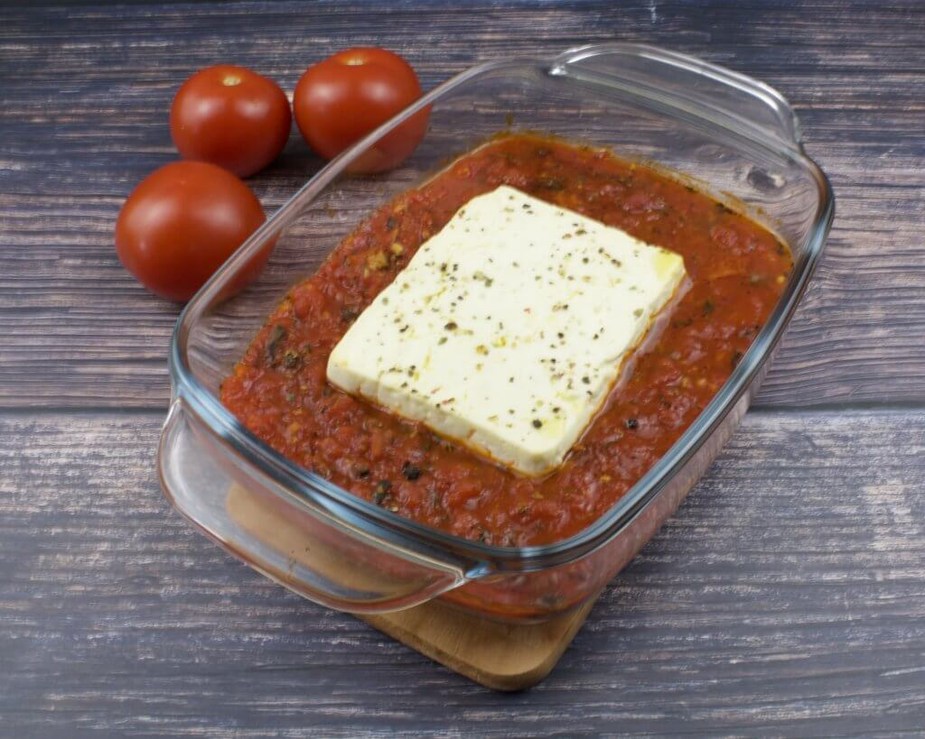 Feta Käse aus dem Backofen