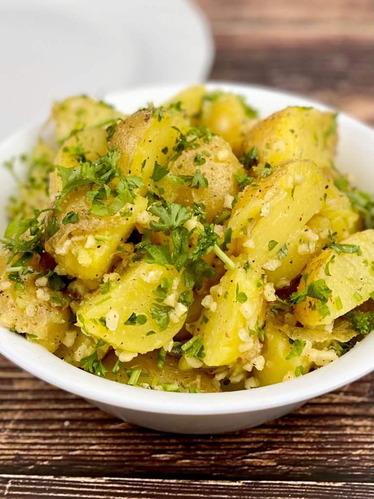 Zubereitung Kanarischer Kartoffelsalat
