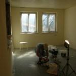 …und auch die Wände haben ein neues Farbkleid bekommen: Margarithe ist der Farbton; wunderschön und hell.