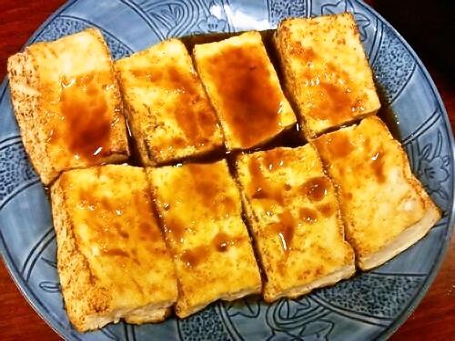 スイスダイヤモンド焼き豆腐出来上がり