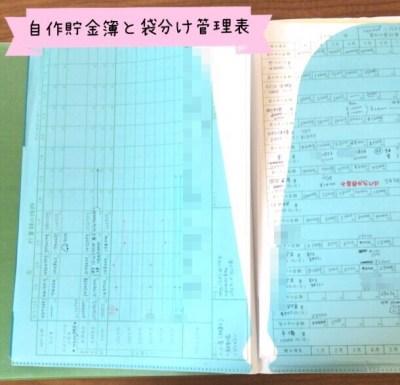お金ファイルの作り方 自作手書き家計簿の写真画像