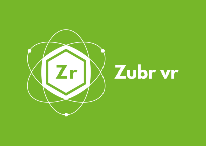 Zubr logo green