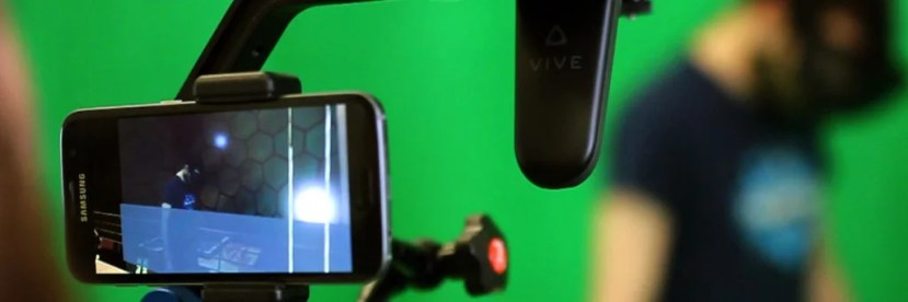 Zubr realtime mixed reality camera rig with virtual viewfinder