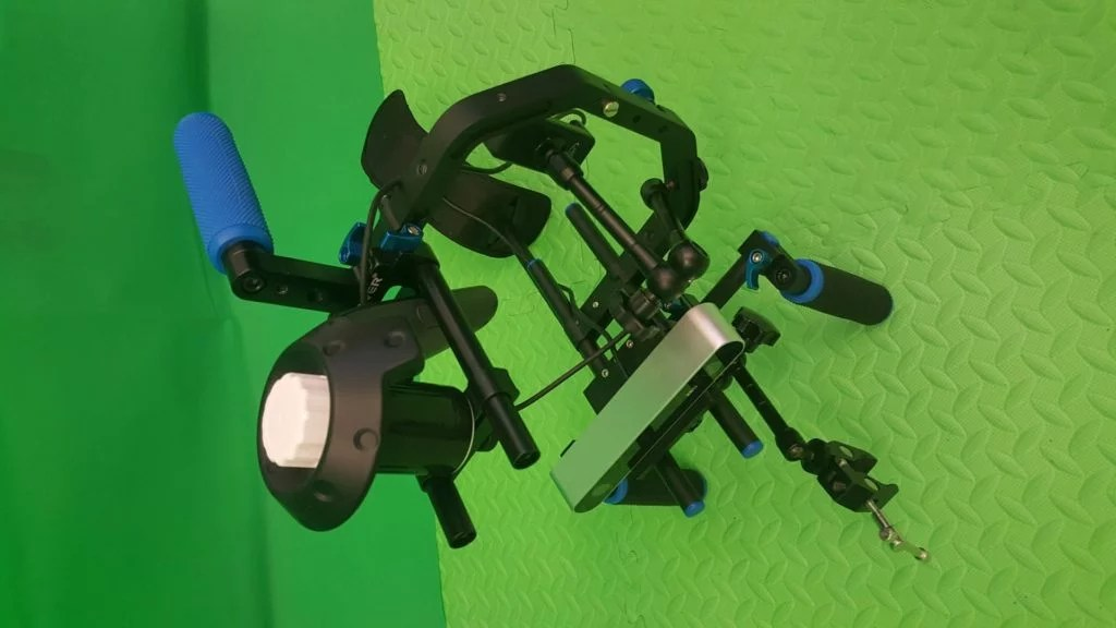 Zubr realtime mixed reality camera rig with HTC Vive