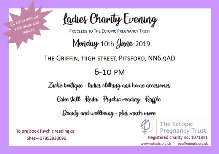 ladies charity evening 10 June 2019