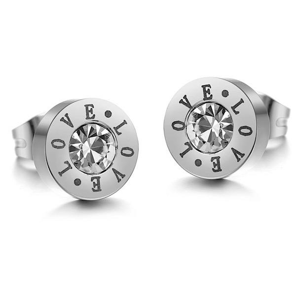 Crystal Love Earrings