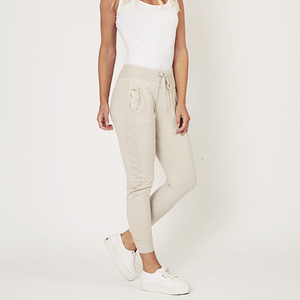 Ultimate Joggers Beige