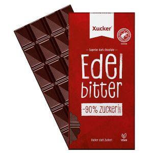 XUCKER Edelbitterschokolade 75 Prozent Kakaoanteil mit Xylit kaufen