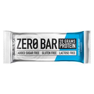 Biotech USA Zero Bar Schokolade Kokos Proteinriegel 50 g. Ohne Zucker, glutenfrei, Whey Isolat. Zero Bar Biotech kaufen. Eiweißriegel mit 45% Eiweiß (20 g).