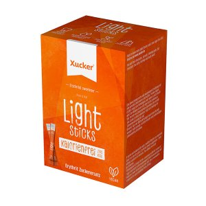 Erythrit Xucker Light Sticks 250 g Packung (50 x 5 g Sticks), XUCKER Light Sticks kaufen (Erythrit)! XUCKER Light, Süßstoff auf der Grundlage von Erythrit!