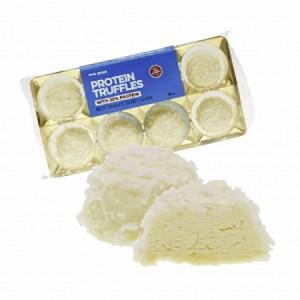 Body Attack Protein Low Carb Truffles Trüffelpralinen Weiße Schokolade-Kokos 80 g. Die Low Carb Truffles Trüffelpralinen haben über 30 g Eiweiß / Packung!