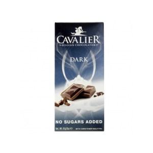 Cavalier Schokolade Edelbitter-Dark 85 g Tafel, Low Carb Schokolade bestellen! Die edelbittere, dunkle Schokolade von Cavalier ist eine Low Carb Schokolade.