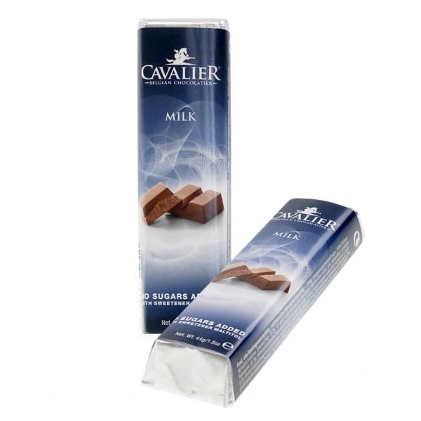 """Cavalier Schokoriegel """"Milch"""" 42 g, Zuckerfreie Süßigkeiten. Schokolade ohne Zucker kaufen. Schoko ohne Zucker kaufen."""