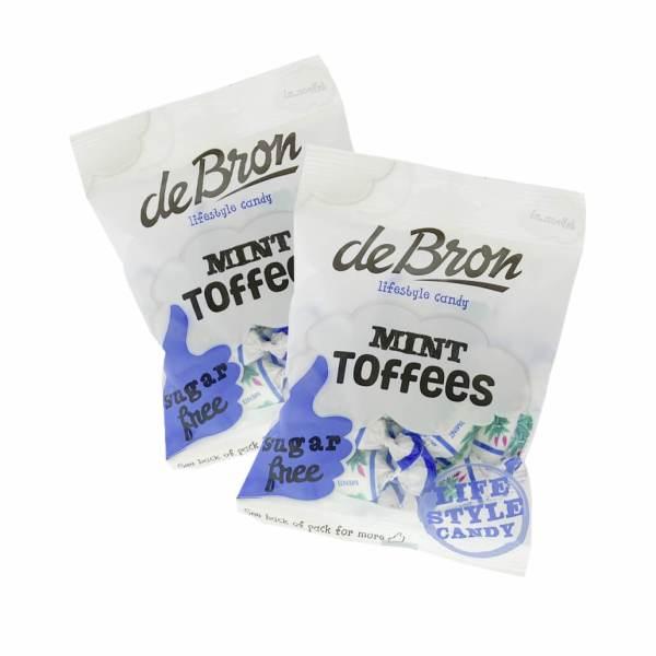 De Bron zuckerfreie Pfefferminztoffees Mint Toffees 90 g. zuckerfreie Sahne Bonbons, Sahne Bonbons ohne Zucker kaufe. Bonbons ohne Zucker kaufen. zuckerfreie Süßigkeiten. Süßigkeiten ohne Zucker kaufen.