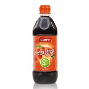 Slimpie zuckerfreier Limonaden-Sirup Eistee Pfirsich 580 ml. Limonade ohne Zucker. Zuckerfrei, kalorienfrei, fettfrei, Low Carb Getränke Sirup kaufen