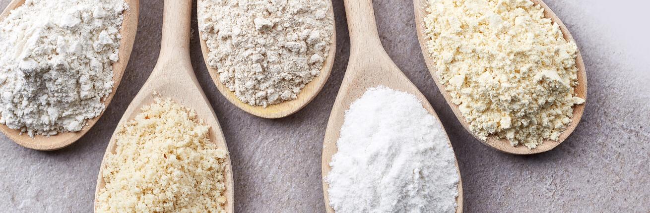 Low Carb Mehl kaufen. Mehl ohne Zucker. Kohlenhydrate armes - Low Carb Mehl! Bio Mandelmehl, Paniermehl, Guarkermehl, Kartoffelfasern. Low Carb Mehl online