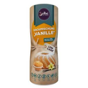 Low Carb Backmischung Vanille Soulfood LowCarberia 300g online kaufen. Low Carb Backmischung Grundmix für leckere, saftige Kuchen, Muffins oder Cupcakes.