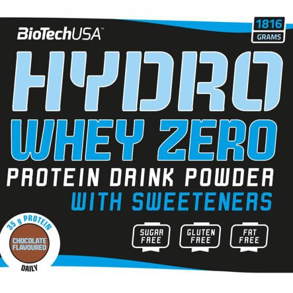 BioTech USA Hydro Whey Zero 1816 g. Whey Hydrolysat kaufen von BioTech USA. Hydro Whey Zero kaufen. Biotech Hydro Whey Protein
