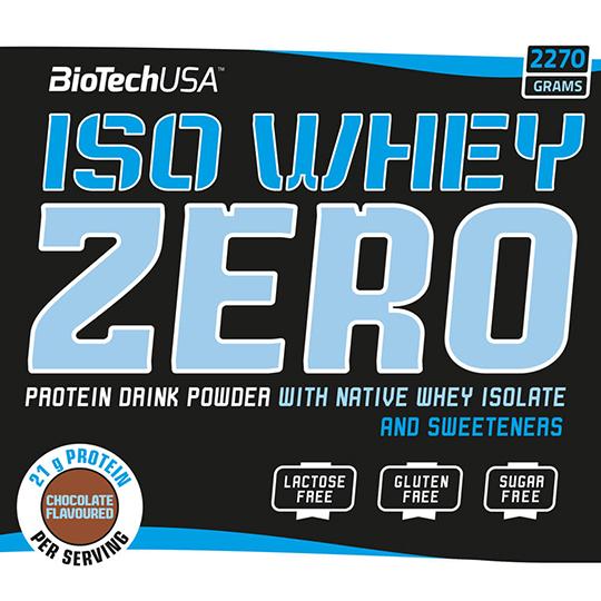 BioTech USA Iso Whey Zero 2270 g kaufen. BioTech USA Iso Whey Zero