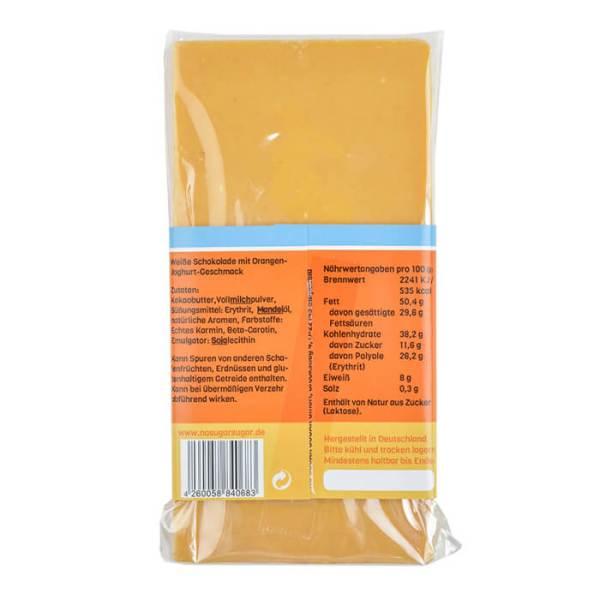 Handgeschöpfte Schokolade zuckerfrei Orange Joghurt No Sugar Sugar kaufen. Zuckerfreie Schokolade, Schokolade ohne Zucker kaufen