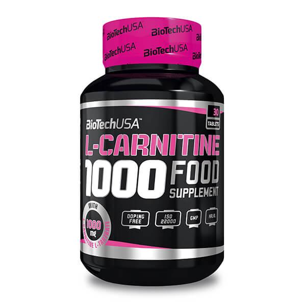 BioTechUSA L-Carnitine 1000 Fatburner Tabletten. Fatburner kaufen. L-Carnitin / L Carnithin / L-Carnitine Fatburner kaufen. BioTechUSA Fatburner bestellen!