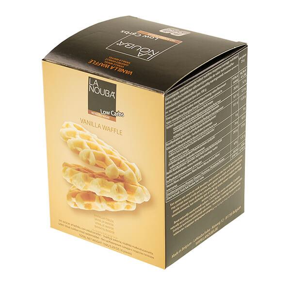 La Nouba zuckerfreie belgische Vanille-Waffeln ohne Zuckerzusatz 180 g kaufen. Low Carb Waffel kaufen. Low Carb Waffeln La Nouba, zuckerfreie Waffeln kaufen