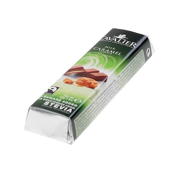 Cavalier Stevia Schokoriegel Milk Caramel Milch Karamell 40 g online kaufen.
