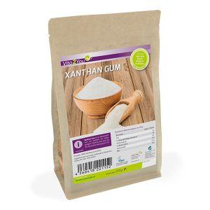Vita2you Xanthan gum - reiner Ballaststoff - der Helfer in der Low-Carb-Küche 250 g Beutel kaufen. Vita2you Xanthan gum 250 g Beutel online kaufen im Shop.