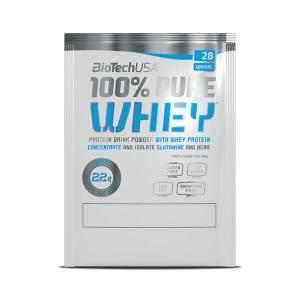 BioTech USA 100% Pure Whey Proteinpulver 28 g Sachet. Molkenprotein von BioTech USA im zuckerfei Online Shop kaufen. 28 g Sachets. Teste die Sorten!