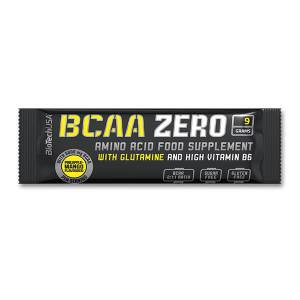 BioTech USA BCAA ZERO 9 g Sachet Portionsbeutel / Geschmacksbeutel. Leucin, Isoleucin und Valin = BCAAs. Teste jetzt die verschiedenen Geschmäcker im Shop!