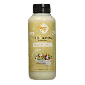 GymQueen Mamma Mia Zero Sauce French Dressing 265 ml