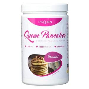 GymQueen Queen Pancakes Backmischung Haselnuss 500 g Dose. Die Protein Pancakes / Protein Pfannkuchen im Haselnuss Geschmack von GymQueen online kaufen!