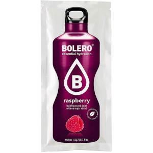 Bolero Instant RASPBERRY Himbeere Getränkepulver. Bolero Instant im 9g Beutel kaufen! Bolero Instant Erfrischungs Getränkepulver Beutel für fertiges Getränk