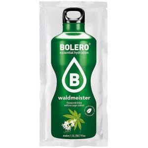 Bolero Instant Waldmeister Getränkepulver. Bolero Instant im 9 g Beutel kaufen! Bolero Instant Erfrischungs Getränkepulver Beutel für fertiges Getränk