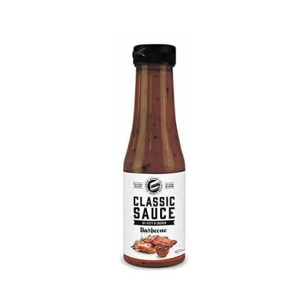 GOT7 Nutrition Classic Sauce BBQ Barbecue 350 ml. Low Carb Grill Soße. 0% Fett, 0% Zucker, Kalorien reduziert & Kohlenhydrate reduziert. Soße kaufen!